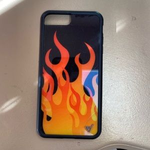 Flame Wildflower 8 plus case